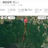 羊蹄山、720mと1000m