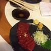 【おさけ】宮川橋もつ肉店でもつ焼き皿焼きレバーで黒ホッピー1500ベロ