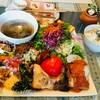 野菜たっぷり栄養満点ランチプレート@カフェリビング
