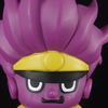 「パンソン×ジョジョの奇妙な冒険 ソフビフィギュア『スタープラチナ』」パンソンのコラボデザイン!!