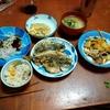幸運な病のレシピ( 2225 )朝 :冬瓜中華風炒め(豚スライス、白ワイン風味)、冬瓜味噌汁