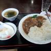 領家【栄華楼】牛バラ肉かけご飯 ¥750