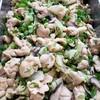 鶏肉と聖護院かぶ、しいたけの煮物