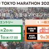「東京マラソン2020」一般抽選結果発表日!願掛け夜明けラン