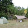 夏の陽射しの秋キャンプ@さのう高原