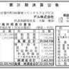デル株式会社 第31期決算公告