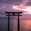 琵琶湖に浮かぶ「白髭神社」へ初日の出を見に行ってきました!