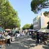 福岡で筥崎宮蚤の市を満喫。