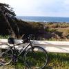 自転車(クロスバイク)朝活!チーズカルビのホットサンド