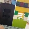 レゴでファミレスのコーヒーメーカーとジュースの機械
