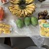いろいろな果物の購入