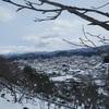 雪中登山(里山編)