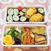 お知らせとお寿司弁当の記録/My Homemade Boxed Lunch/ข้าวกล่องเบนโตะที่ทำเอง