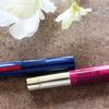 乾燥から唇を守る発色のいいカラーリップ比較 「エコリュクス ナチュラルリップ」VS「ニベアリッチケア&カラーリップ」