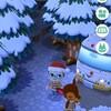 【ポケ森】キャンプ場に初雪ですよ!!