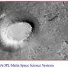 ザ・サンダーボルツ勝手連  [Martian Butte and Crater      火星のビュート(孤立丘)とクレーター]