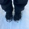 雪道ランは足に優しい・・・時もある