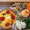 南青山『buik』のランチBOXをテイクアウト。大きなキッシュに野菜がいっぱいのボリュームランチ。