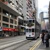 香港 トラムに乗ったが方向が逆、乗り直してセントラル方面へ移動