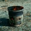 籾殻燻炭のこつ