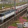 第860列車 「 甲42 都営地下鉄大江戸線用12-600系(12-721f)の甲種輸送を狙う 」