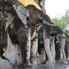 11番 実物大の象の仏塔が圧巻!チェンマイで最も古いお寺