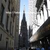 【ニューヨーク】【ロウアーマンハッタン】トリニティ教会 Trinity Church・NYで最初に建てられた教会