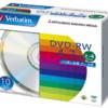 三菱化学メディア Verbatim DVD-RW 4.7GB くり返し記録用 2-4倍速