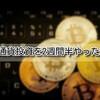 【仮想通貨 結果】初心者が仮想通貨投資を始めて、2週間半経った結果