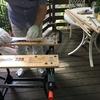 爺さんのモーター付ピウスツキ号制作と夏休みの一日
