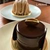 【中央区】リベルテ。大人のためのショコラトリー。輝きを放つチョコレートのミラーケーキ。