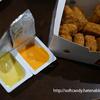 マクドナルド・期間限定の ・コーンポタージュ味ソース、チェダーチーズ味ソース、オレオロールケーキ(感想レビュー)