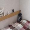 【無印良品】壁に付けられる家具・長押がヘッドボード代わりに!