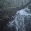 岐阜県恵那市にある串原七つの滝(甘恋の滝と魚留の滝)