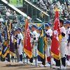 センバツ2年ぶり開幕 新様式の開会式 初日出場6校が堂々入場行進!