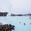 アイスランドの青い温泉ブルーラグーン