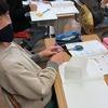 5年生:算数 容積・体積の勉強、立方体をつくる