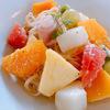 果物カフェ「フルーツピークス」の果物バイキング