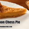 チェスパイのレシピ2 レモンチェスパイ【アメリカ料理】Lemon Chess Pie