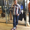 デラックスウエアのヘビーネルシャツ&ネルシャツのセットアップに対応したジーンズ!2017秋冬新作☆