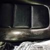 車 内装修理⑭アウディ TT レザーシート擦れ・色抜け ※天井張替