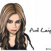 似顔絵:アヴリル・ラヴィーン ver2.0