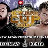 フィンレー玉砕:8.22 NEW JAPAN CUP 2020 in THE USA 観戦記