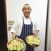 きじまりゅうたさんの料理教室にて、ハレの料理ふたつを習う。
