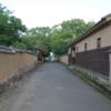 富坂・藩校の門・勘定場の坂 大分県杵築市大字杵築