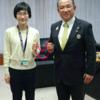 視覚障がい女子マラソンのガイドランナーの青山由佳さん、ご紹介します!