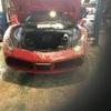フェラーリ458イタリア マフラー交換 ローダウン