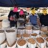「海外旅行記」ウズベキスタン #3 サマルカンド観光、Central Bazaar (市場)