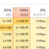 Windows10が重い!ディスク100%が治らない原因はメモリ不足にありました。増設して解決。