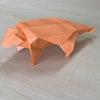 折り紙 アンキロサウルス